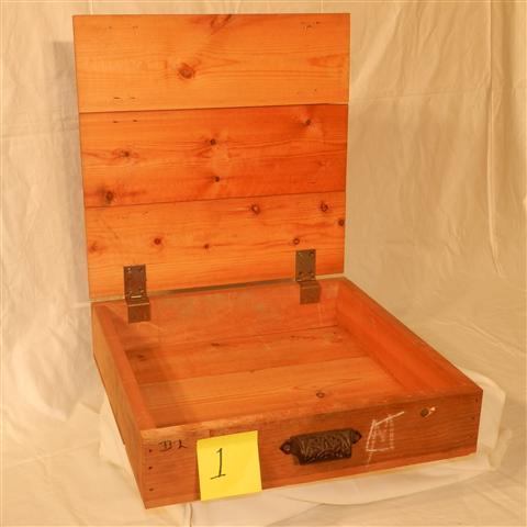 Mawson specimen boxes
