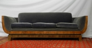 Art Deco Couch from the Metro Theatre