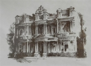 Edmund Wright House print