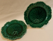 Pair of Wedgwood plates