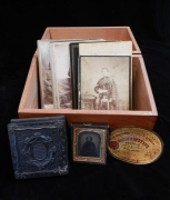 Boxed vintage photos from Hardwicke-Knight collection
