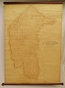 Topographical map of The Federal Territory (Canberra) Australia