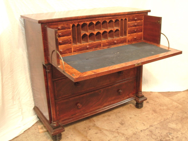 Secretaire Chest after conservation